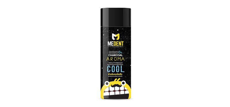 MEDENT Charcoal Aroma Mouthwash 120ml