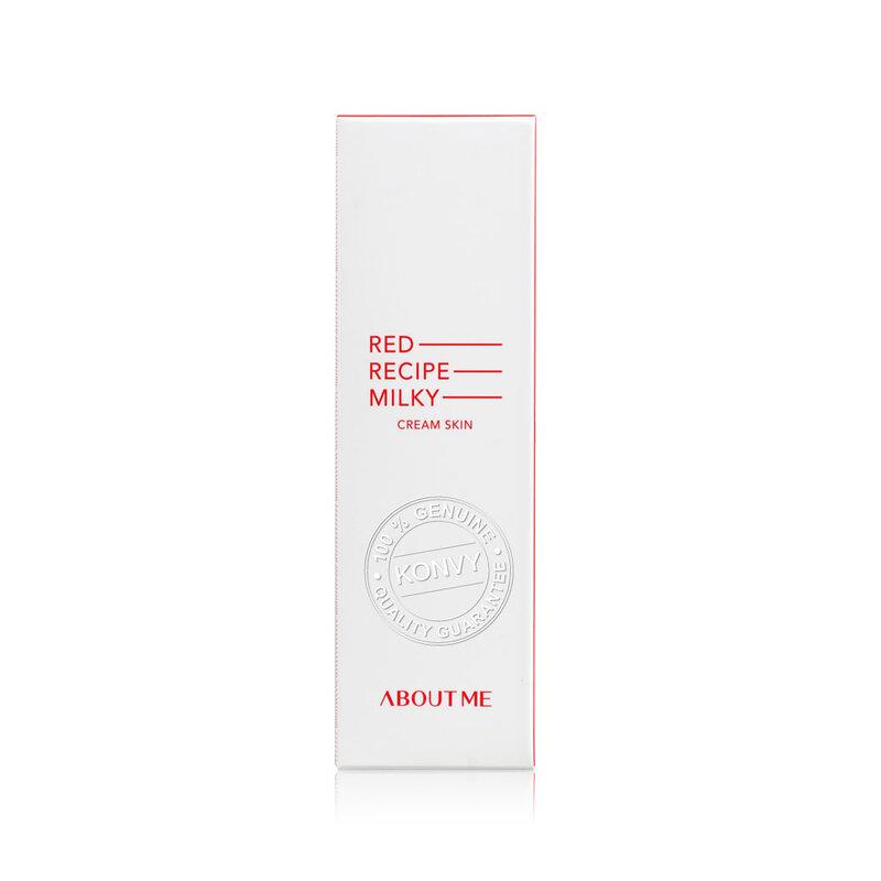 About Me Red Recipe Milky Cream Skin 125ml