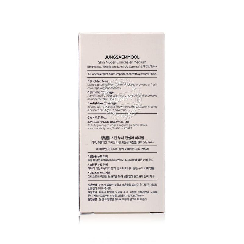 Jung Saem Mool Skin Nuder Concealer SPF34/PA++ 6g #Medium