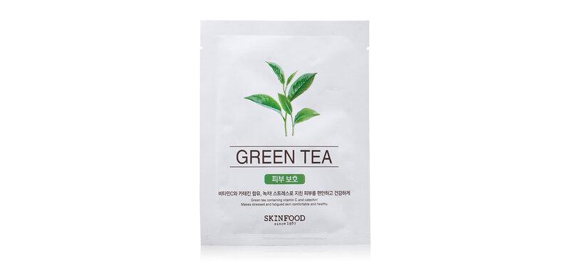 Skinfood Beauty in a Food Mask Sheet 18ml #Green Tea