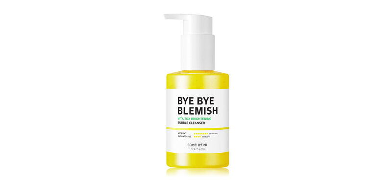 Some By Mi Bye Bye Blemish Vita Tox Brightening Bubble Cleanser 120g