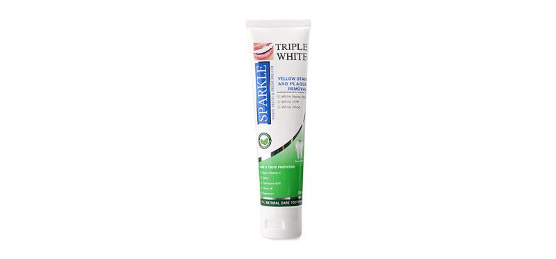 Sparkle Triple White Toothpaste 100g