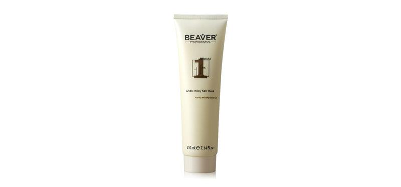 Beaver One-Minute Acidic Milky Hair Mask 210ml