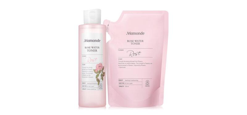 Mamonde Rose Water Toner Set