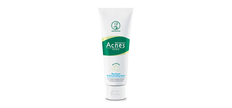 Mentholatum Acnes Blackhead And Oil Control Wash 100g