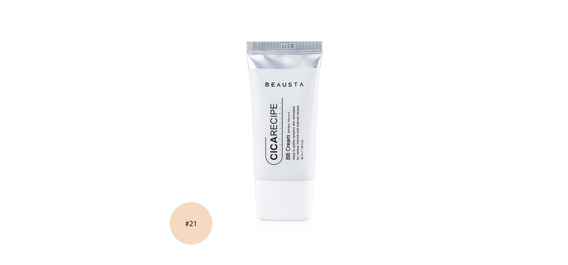BEAUSTA Cicarecipe BB Cream SPF50+/PA++++ 40ml #21