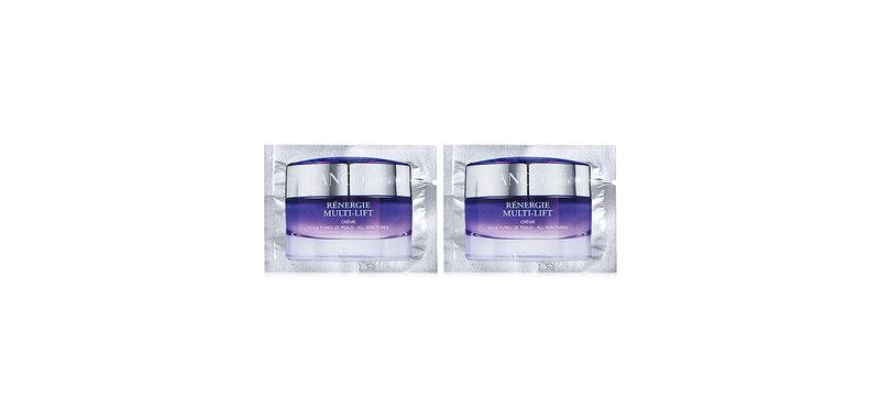 [แพ็คคู่] Lancome Renergie Multi-Lift Cream Face & Neck [2ml x 2pcs]