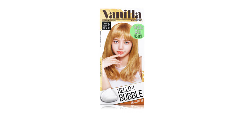Mise En Scene Hello Bubble Foam Color #Vanilla Gold