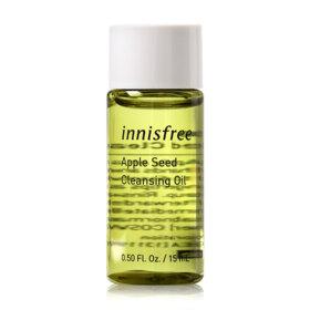 ฟรี!  Apple Seed Cleansing Oil 15ml (1 ชิ้น / 1 ออเดอร์) เมื่อช้อปสินค้า Innisfree