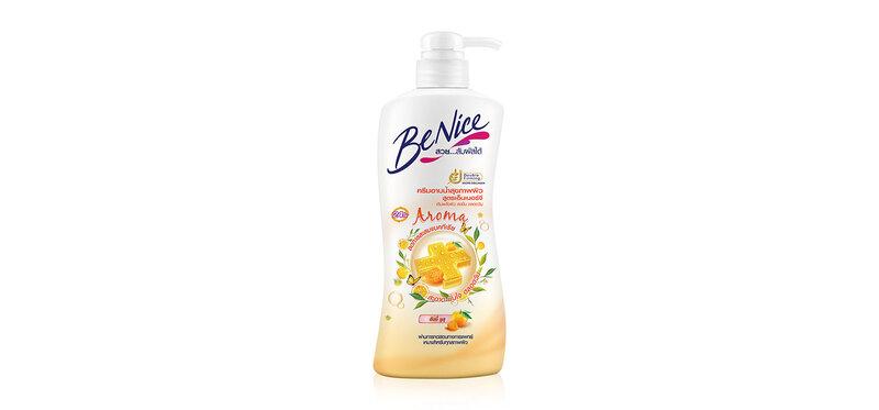 BeNice Anitibac Shower Cream Energy Aroma Honey Yuzu 450ml