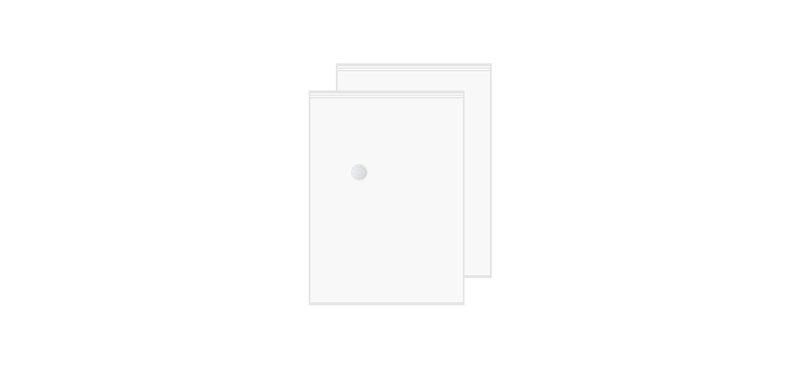 NaChuan Vacuum CompressionTransparent Bag Set 2 [2pcs] [Size 60*80cm] [A0315-GF]