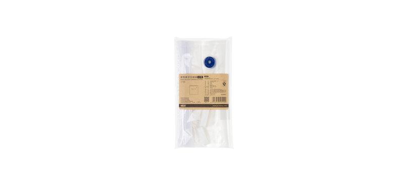 NaChuan Food Vacuum Compression Bag Set #Transparent [5pcs] [Size S][A0303-GB]