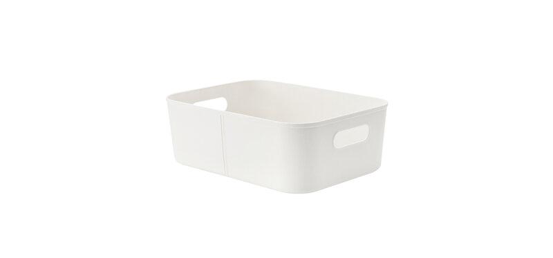 NaChuan Storage Basket #White [A0298]
