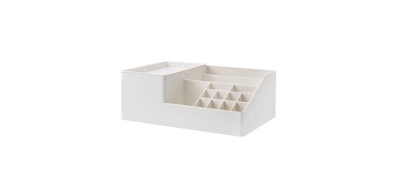 NaChuan Cosmetic Storage Box #White [A0277]