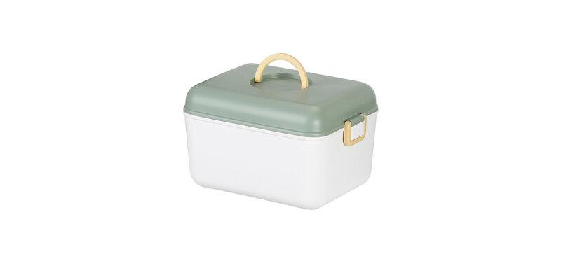 NaChuan Portable Storage Box #Green [Size L] [A0401-TB]