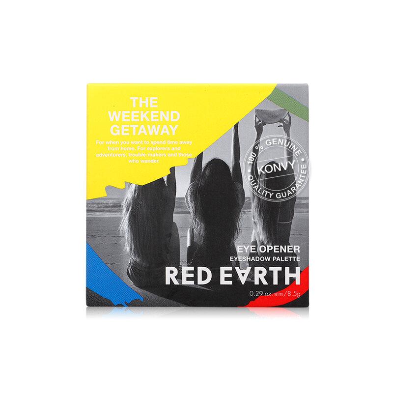 Red Earth Eye Opener Red Earth Eyeshadow Palette 8.5g #E500