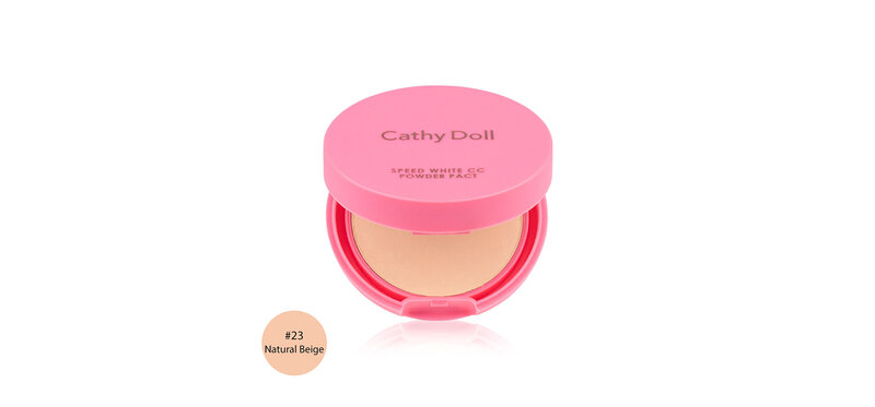 Cathy Doll Speed White CC Powder Pact SPF40/PA+++ 4.5g #23 Natural Beige