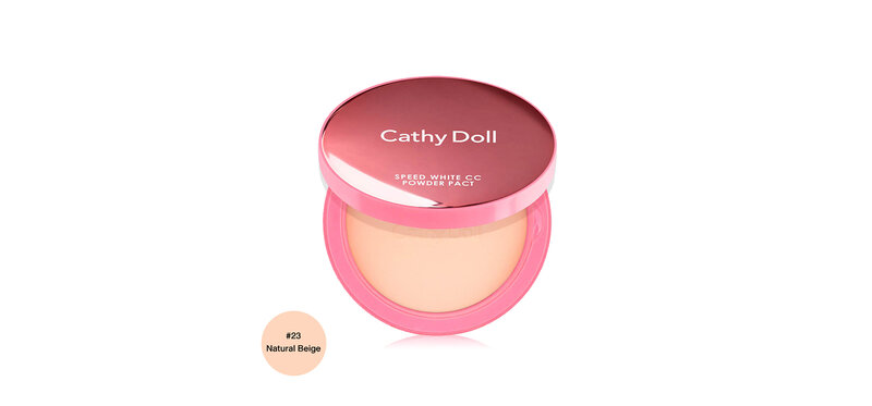 Cathy Doll Speed White CC Powder Pact SPF40/PA+++ 12g #23 Natural Beige