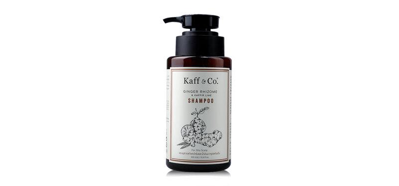 Kaff & Co. Ginger Rhizome & Kaffir Lime Shampoo 300ml
