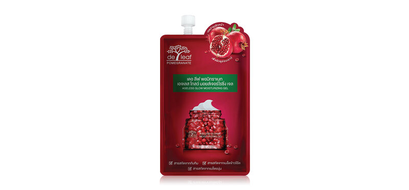 De Leaf Thanaka Pomegranate Ageless Glow Moisturizing Gel 6ml