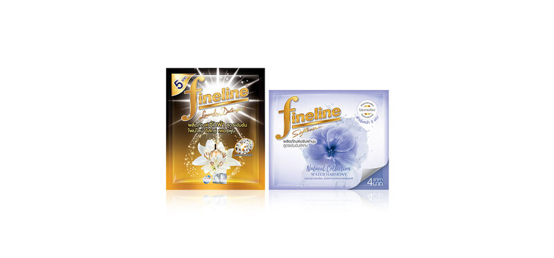 [Free Gift] Fineline Laundry Detergent Deluxe Perfume 30ml + Softener Natural Water Harmony Violet 20ml [Random 1pcs]