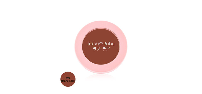 RABU RABU Natural Look Cream Blush 4g #05 Hanna Coral