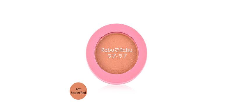 RABU RABU Cheek Blush 3g #02 Scarlet  Red