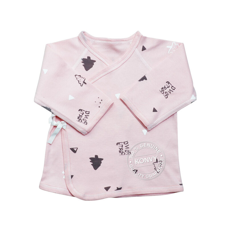 YUYING Baby Kimono Shirt and Pants Set Pure Cotton 100% Cloth [3-6 Months] Forest #Pink #66 [1807T-3]