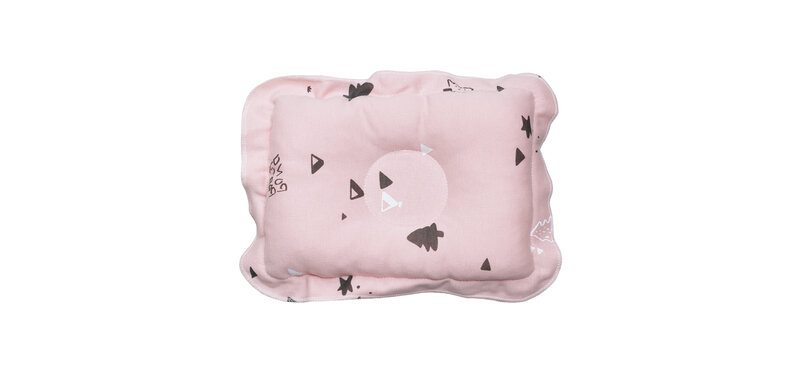 YUYING Baby Toddler Pillow Pure Cotton 100% Forest #Pink [1807T-5]