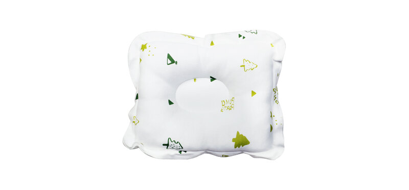 YUYING Baby Toddler Pillow Pure Cotton 100% Forest #White [1807D-5]