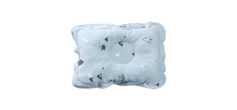 YUYING Baby Toddler Pillow Pure Cotton 100% Forest #Blue [1807D-5]