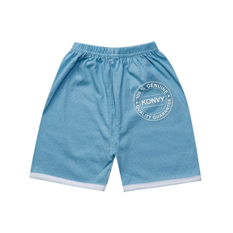 YUYING Baby Short Sleeve and Pants Set Pure Cotton 100% Cloth for Newborn [0-3 Months] Thin Cloud #Blue #59 [2088A-2]