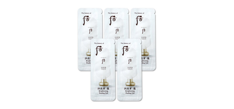 The History Of Whoo Brightening Peeling Gel [1ml x 5pcs]