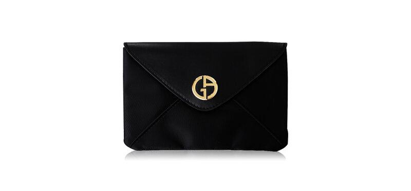 Giorgio Armani Beauty Black Flat Pouch