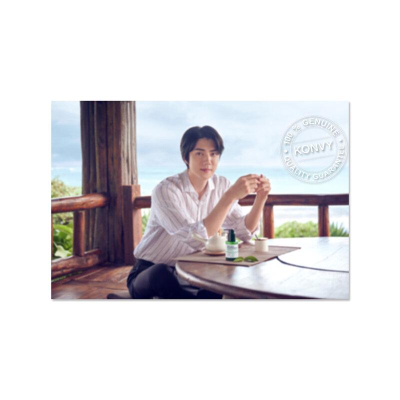 [Free Gift] Some By Mi Lenticular/Transparent Sehun Photo Card [Random 1pcs]