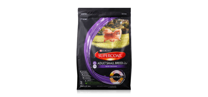 Purina Supercoat Dog Food Adult Small Breed 1+Years Chicken Flovour 3kg