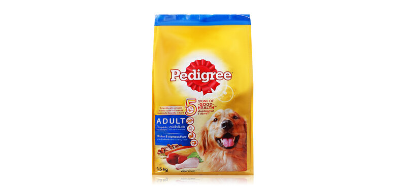 Pedigree Dog Food Adult Chicken & Vegetables Flavor 1.5kg
