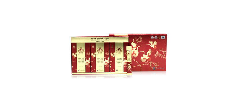 Samsidae Korean Red Ginseng Extract Every Ginseng [10ml x 10 Sachets]