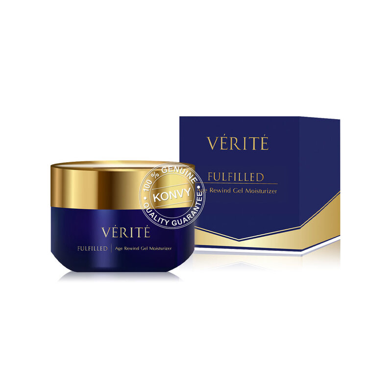 Verite Fulfilled Age Rewind Gel Moisturizer 50g