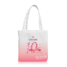 ฟรี! Chame 10th Anniversary Pink Tote Bag Limited Edtion (1 ชิ้น / 1 ออเดอร์) เมื่อช้อปสินค้า Chame ครบ 900.- (จำนวนจำกัด)