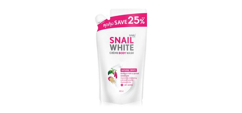 [Free Gift] Namu Life Snailwhite Body Wash Natural White 400ml ( สินค้าหมดอายุ : 2021.06 )