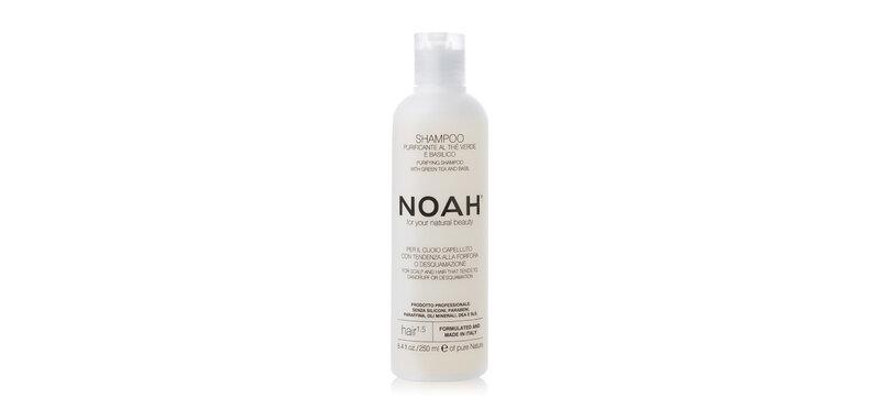 NOAH Purifying Shampoo with Green Tea and Basil 250ml