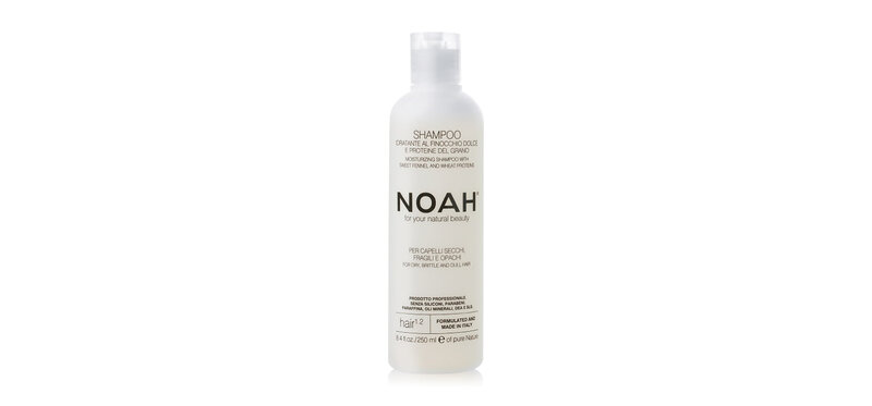 NOAH Moisturizing Shampoo with Sweet Fennel and Wheat Proteins 250ml