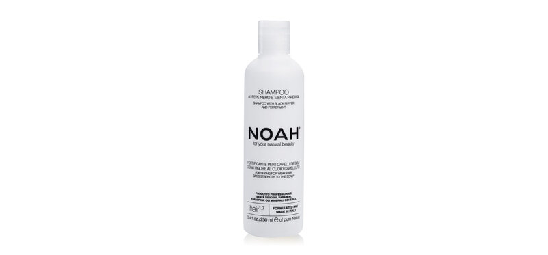 NOAH Shampoo with Black Pepper and Peppermint 250ml