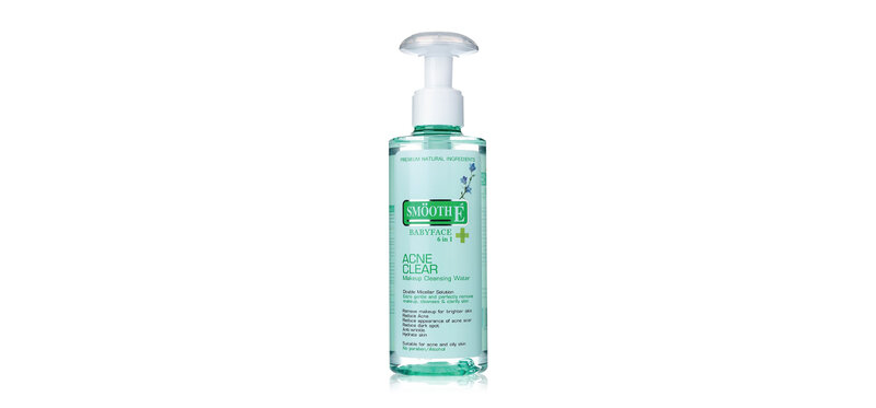 Smooth E Acne Clear Makeup Cleansing Water 200ml