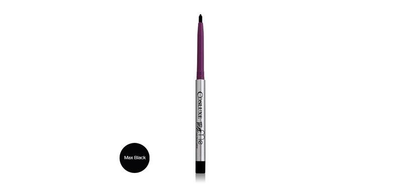 Cosluxe Trust Me Auto Pencil Eyeliner #Max Black