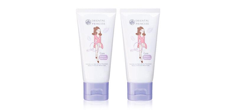 [แพ็คคู่] Oriental Princess Knee Care Whitening Knee Cream [50g x 2pcs]