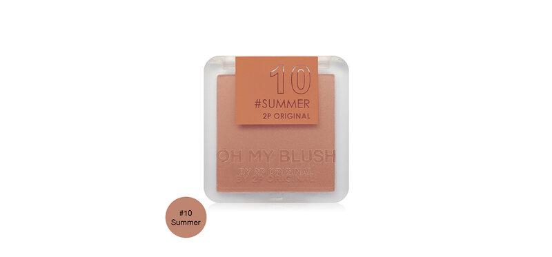 2P Original Oh My Blush 5g #10 Summer
