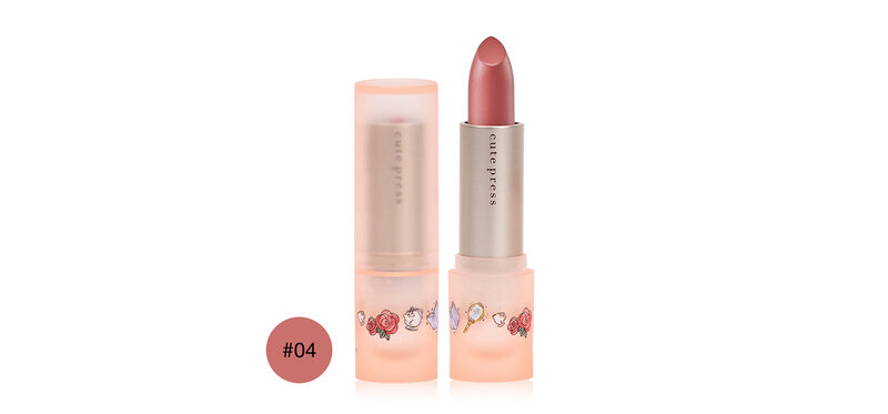 Cute Press Dream It Creamy Lipstick 3.7g #04 Beautiful Like a Rose
