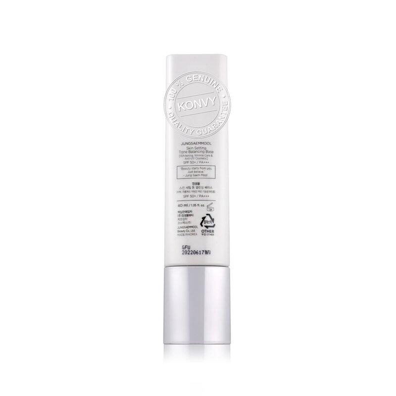 Jung Saem Mool Skin Setting Tone Balancing Base SPF50+/PA+++ 40ml